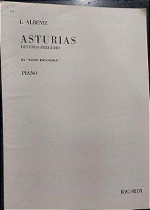 ASTURIAS (da Suíte Espanhola) - partitura para piano - Albeniz