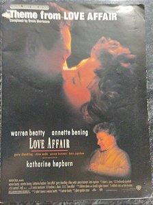 LOVE AFFAIR (Tema do filme) - partitura para piano solo - Ennio Morricone