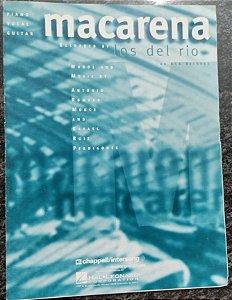 MACARENA - partitura para piano, canto e cifras para violão - Los Del Rio