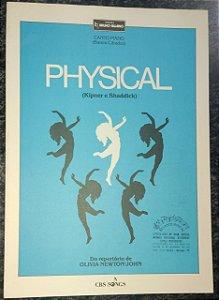 PHYSICAL - partitura para piano e canto - Stephen Kipner e Terry Shaddick