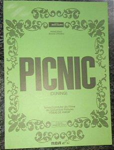 PICNIC - partitura para piano - George Duning