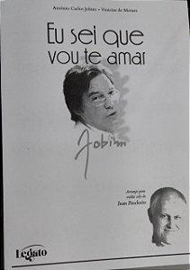 EU SEI QUE VOU TE AMAR - partitura para violão - Tom Jobim