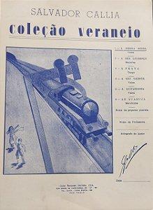 A SERRA NEGRA - partitura para piano - Salvador Callia