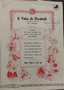 A VALSA DE ELIZABETH - partitura para piano - G. Martin