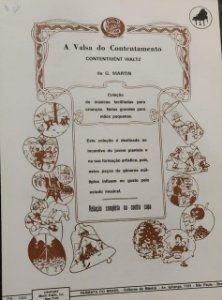 A VALSA DO CONTENTAMENTO - partitura para piano - G. Martin
