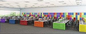 Plataforma de trabalho Op1 - Colorida