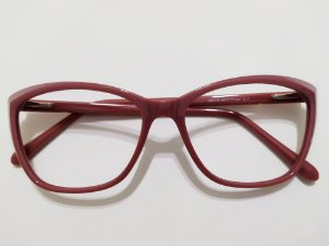 Óculos Para Grau Acetato Rosa Puxadinho Gata Mia
