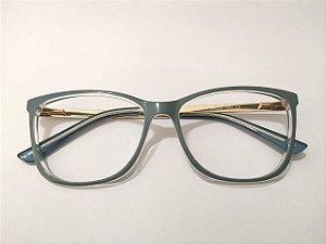 Óculos Gata Mia Acetato Verde Sage Quadrado