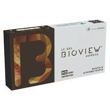 Lente de Contato Para Miopia Bioview Asférica