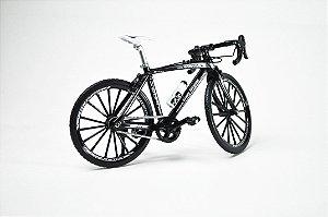 Miniatura Bike Speed diecast Preta