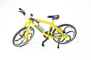 Miniatura Bike MTB - Amarela