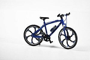 Miniatura Bike MTB diecast Azul