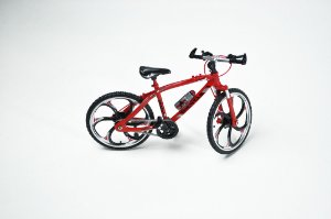 Miniatura Bike MTB diecast Vermelha