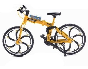 Bicicleta decorativa modelo MTB dobrável Die-Cast