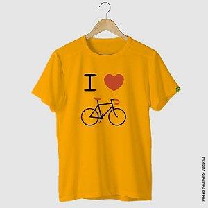 Camiseta casual ciclismo I Love Bike
