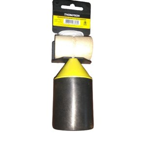 Prumo Thompson Plástico Amarelo e Preto