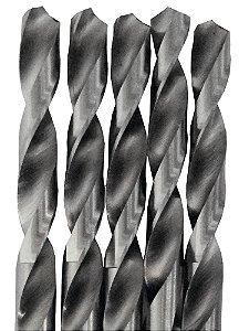 Broca Brasfort Aço rápido 10 mm com 5 peças