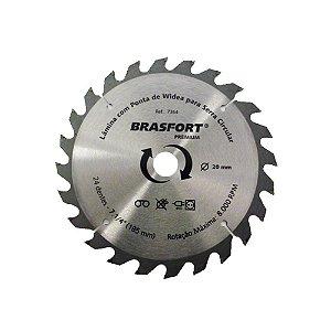 "Serra Circular Brasfort com Widea Prem 7.1/4"" x 36D x 20mm"
