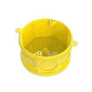 Caixa Injerest de Luz 3X3 Amarela