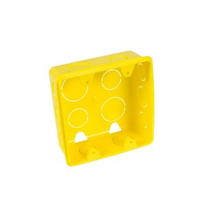 Caixa Injerest de Luz 4X4 Amarela A