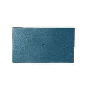 Desempenadeira Injerest Plástica 16cm x 28cm Azul Lisa