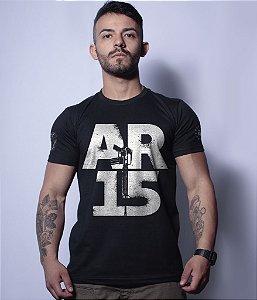 Camiseta Militar Magnata AR15
