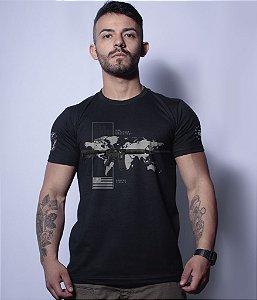 Camiseta Militar Magnata 556 Nato American Guns