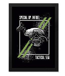 Poster Militar com Moldura Magnata 556 Infidel