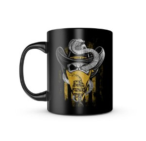 Caneca Magnata Don't Tread On Me Old School 325ML