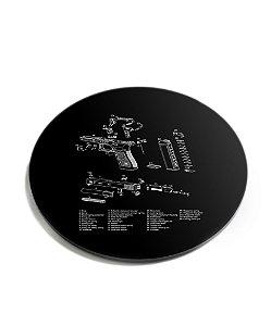 Porta Copos Magnata Glock Parts