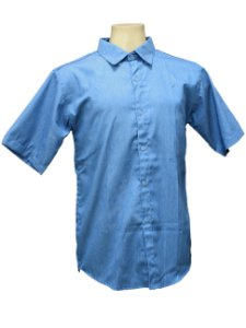 Camisa Azul Masculina