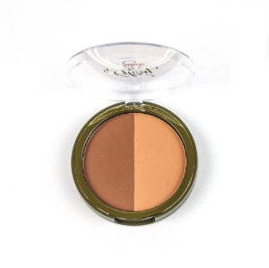 Duo Blush Compacto 380 - Orange Spice 10g Orgânico e Vegano