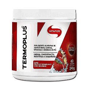 Termo Plus Frutas Vermelhas Com Gengibre 240g - Vitafor