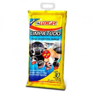 Panos para Limpeza Multiúso Umidecidos Luxcar