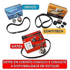 KIT CORREIA DENTADA E TENSIONADOR GM ONIX 1.0 1.4 8V 2012 a 2019