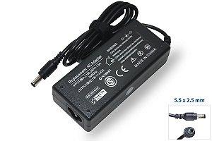 Fonte Para positivo - Asus - CCe - Philco - Infoway - Intelbras - Aureum  - Lenovo 19v 3.42a 5.5 X 2.5mm