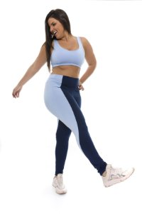 Legging PushUps Blue