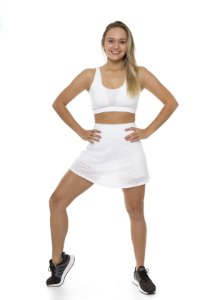 Saia com Shorts Ultra Trail White
