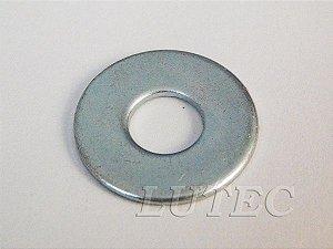 Arruela Lisa M10 Zincada (Embalagem 100 peças)