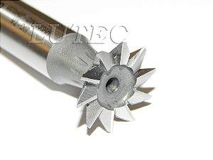 Fresa Angular Rabo de Andorinha 45º X 20mm DIN 1833 AH - Indaço