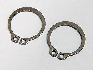 Anel Elástico Eixo 501.012 12mm DIN 471 Inox (Embalagem 20 Peças)