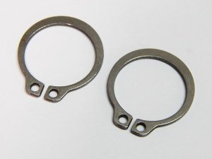 Anel Elástico Eixo 501.006 6mm DIN 471 Inox (Embalagem 20 Peças)