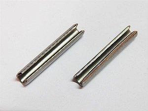 Pino Elástico DIN1481 Ø2 x 12 Inox (Embalagem 20 peças)