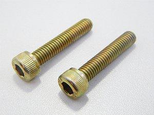Parafuso Allen Cabeça Cilíndrica M5 x 25 Bicromatizado (Embalagem 20 peças)