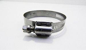 Abraçadeira Regulável FIF Suprens Aço Inox 25-38mm Fita 14,5mm (Embalagem 2 peças)