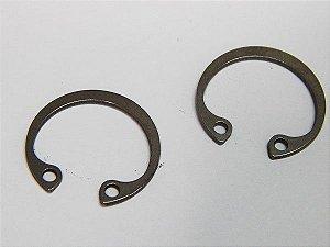 Anel Elástico Furo 502.024 24mm DIN472 Inox (Embalagem 10 Peças)