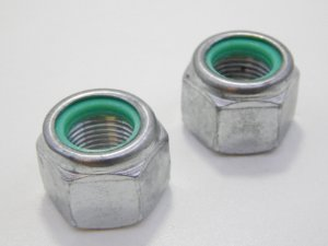 Porca Travante Parlock 3/16 UNC Zincada (Embalagem 50 peças)