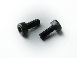 Parafuso Allen Cabeça Cilíndrica #4 (7/64) x 3/16 Aço Liga (Embalagem 20 peças)