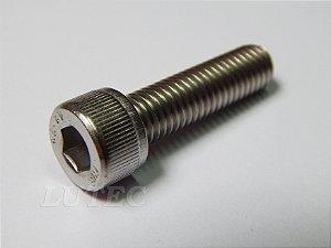 Parafuso Allen Cabeça Cilíndrica M6 x 35 Aço Inox (Embalagem 20 peças)