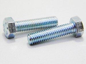 Parafuso Sextavado M5 x 20 Aço 8.8 Zincado (Embalagem 100 peças)